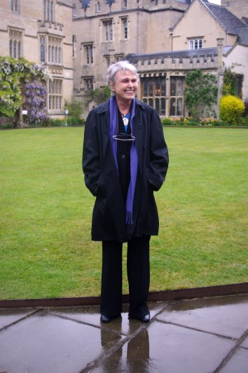 Susan Cooper at Pembroke College, April 27th 2017